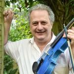 F L Dunkin Wedd (blue violin)